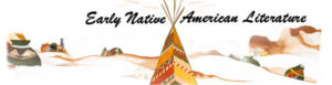 Click the above picture to learn more about the diversity and history of Native American literature.