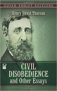 This collection of Thoreau's essays contains each of the political works referenced in St. Jean's essay.